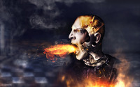 Angry cyborg wallpaper 1920x1080 jpg