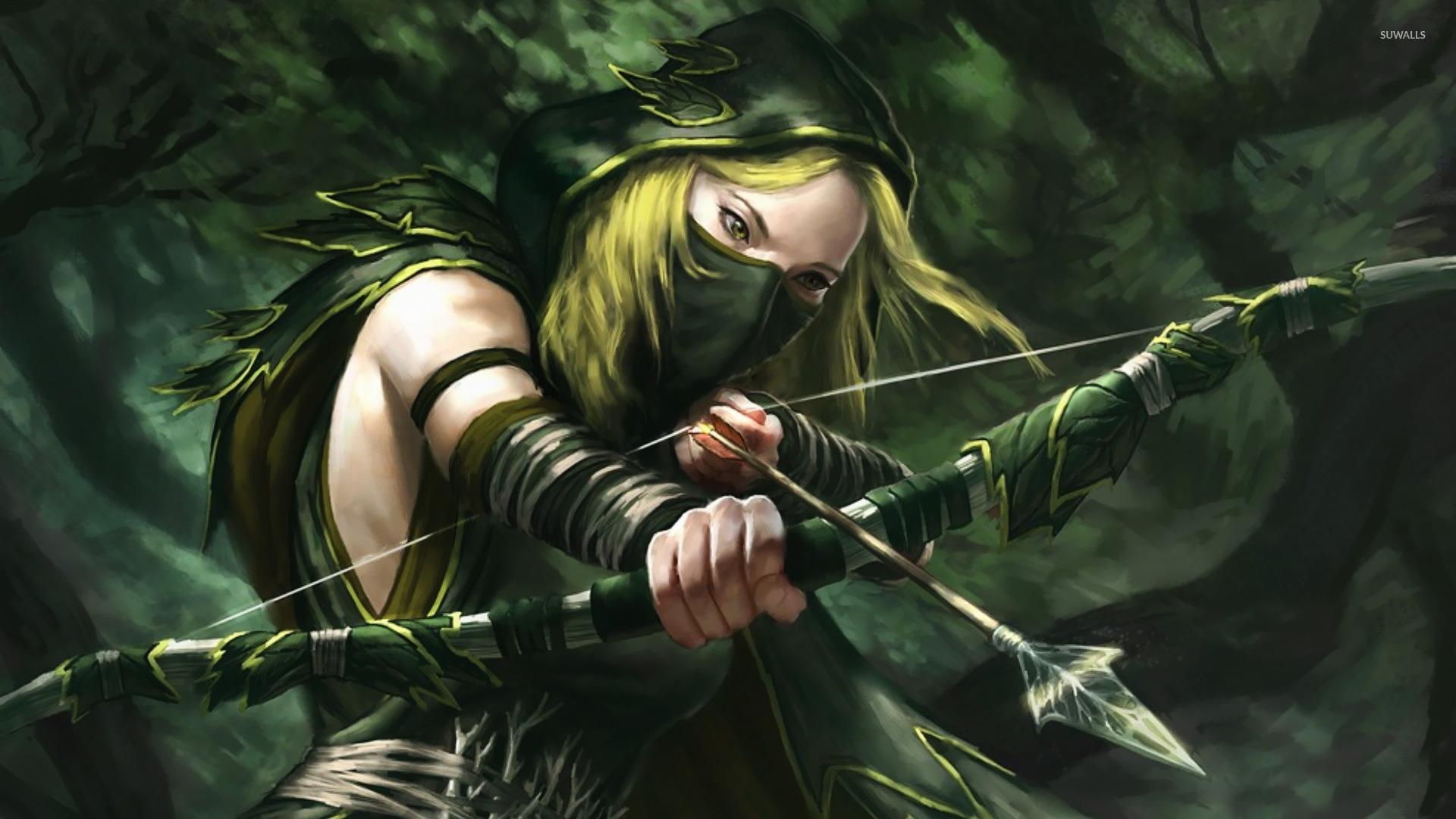 نتیجه تصویری برای Archer girl