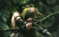 Archer girl [2] wallpaper 1920x1080 jpg
