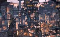 Asian Cityscape [2] wallpaper 2560x1600 jpg