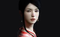 Asian woman wallpaper 2560x1440 jpg