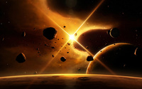 Asteroids wallpaper 1920x1200 jpg