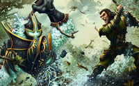 Battle of the warriors wallpaper 1920x1080 jpg