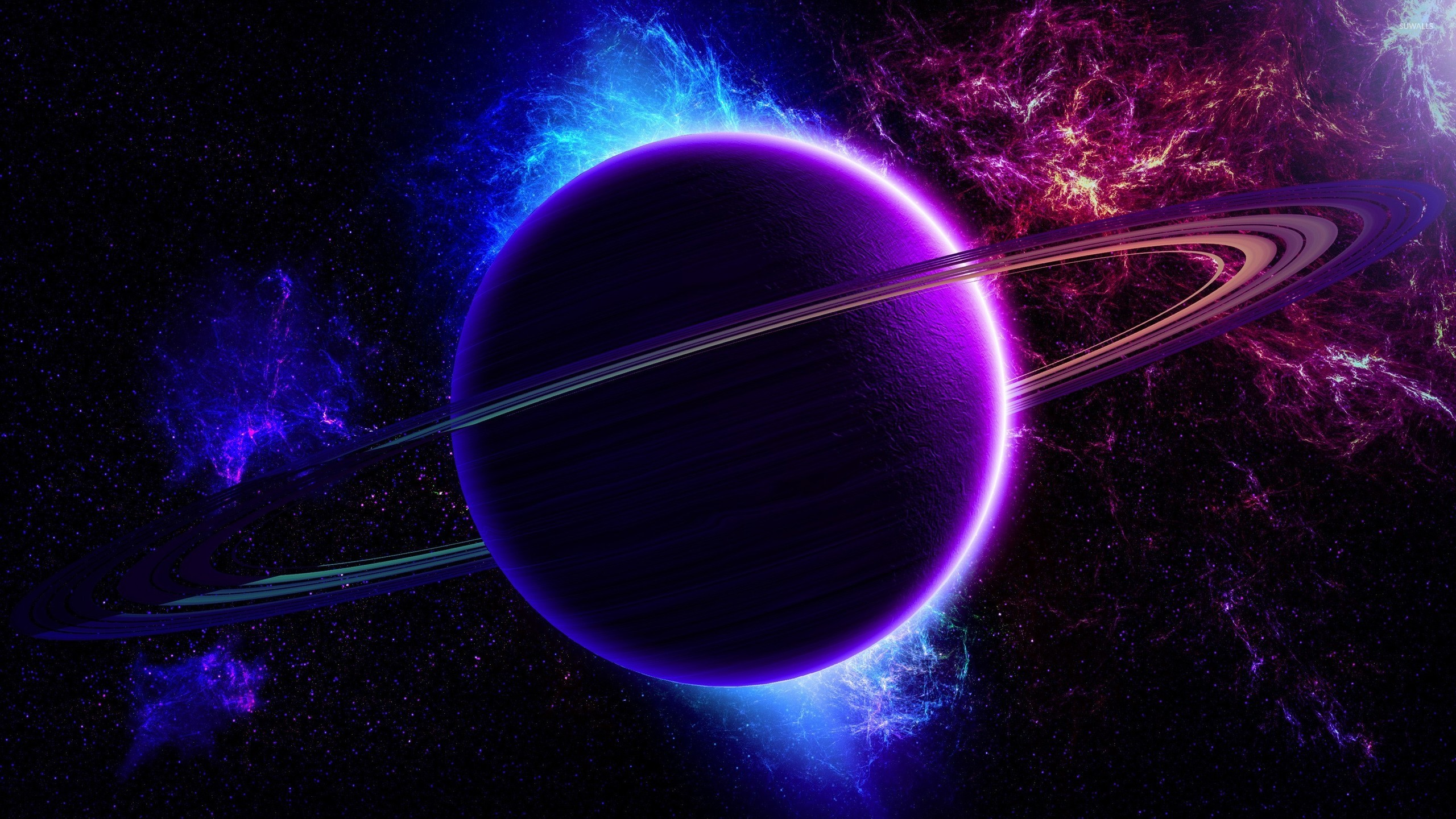 purple and blue planets -#main