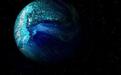 Blue planet [4] wallpaper