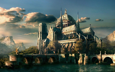 Castle [2] wallpaper