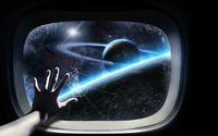 Cracked shuttle window wallpaper 1920x1200 jpg