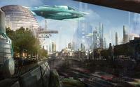 Cyberpunk metropolis wallpaper 1920x1080 jpg