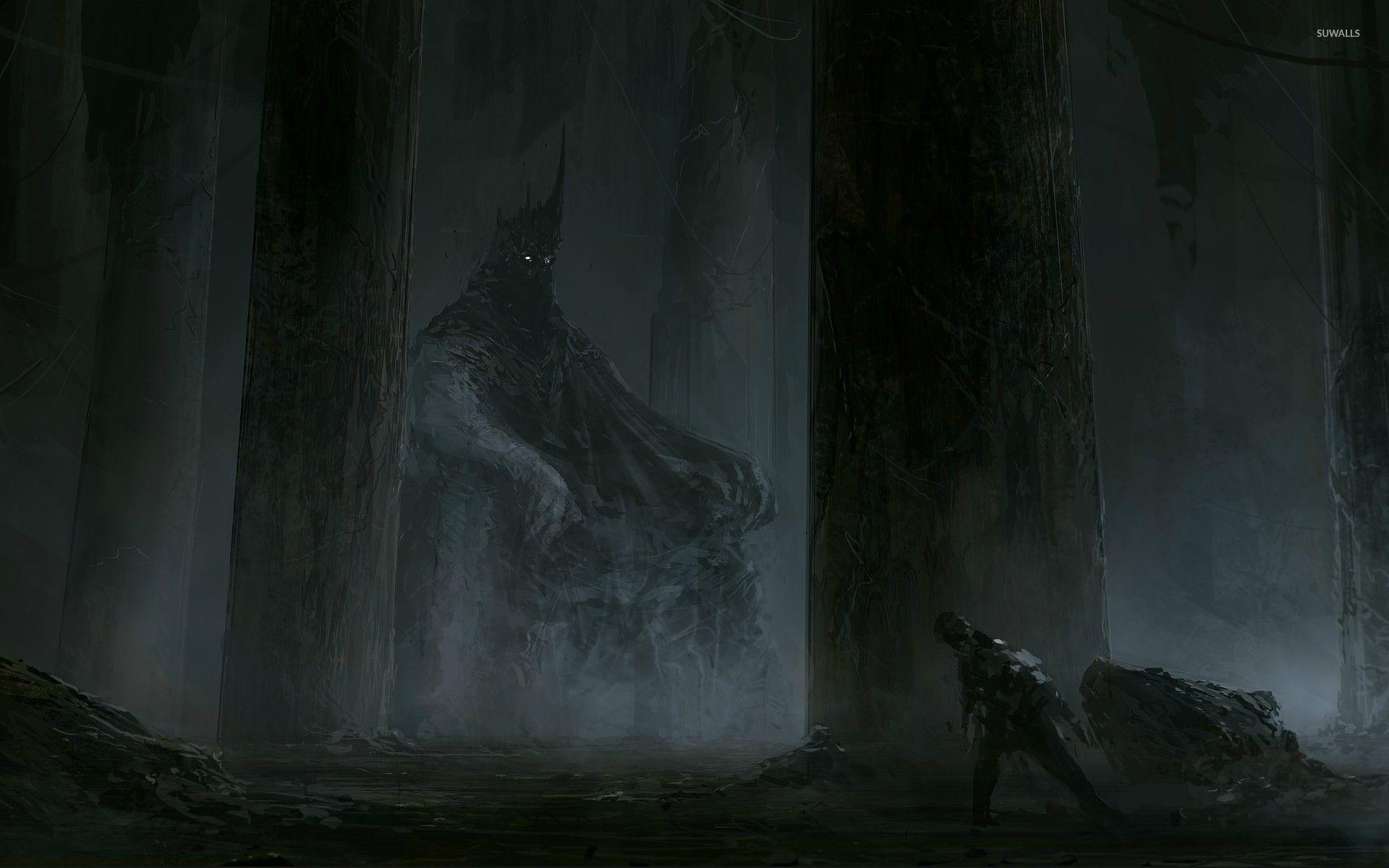 Dark ruler of the wods wallpaper