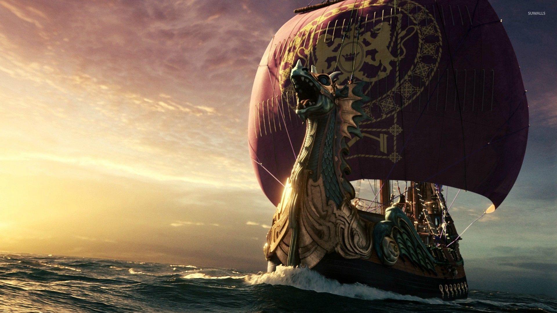 Dawn Treader Ship Wallpaper  Fantasy Wallpapers 29309