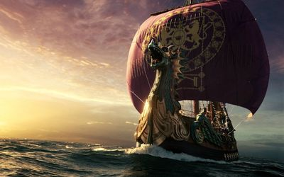 Dawn Treader ship wallpaper