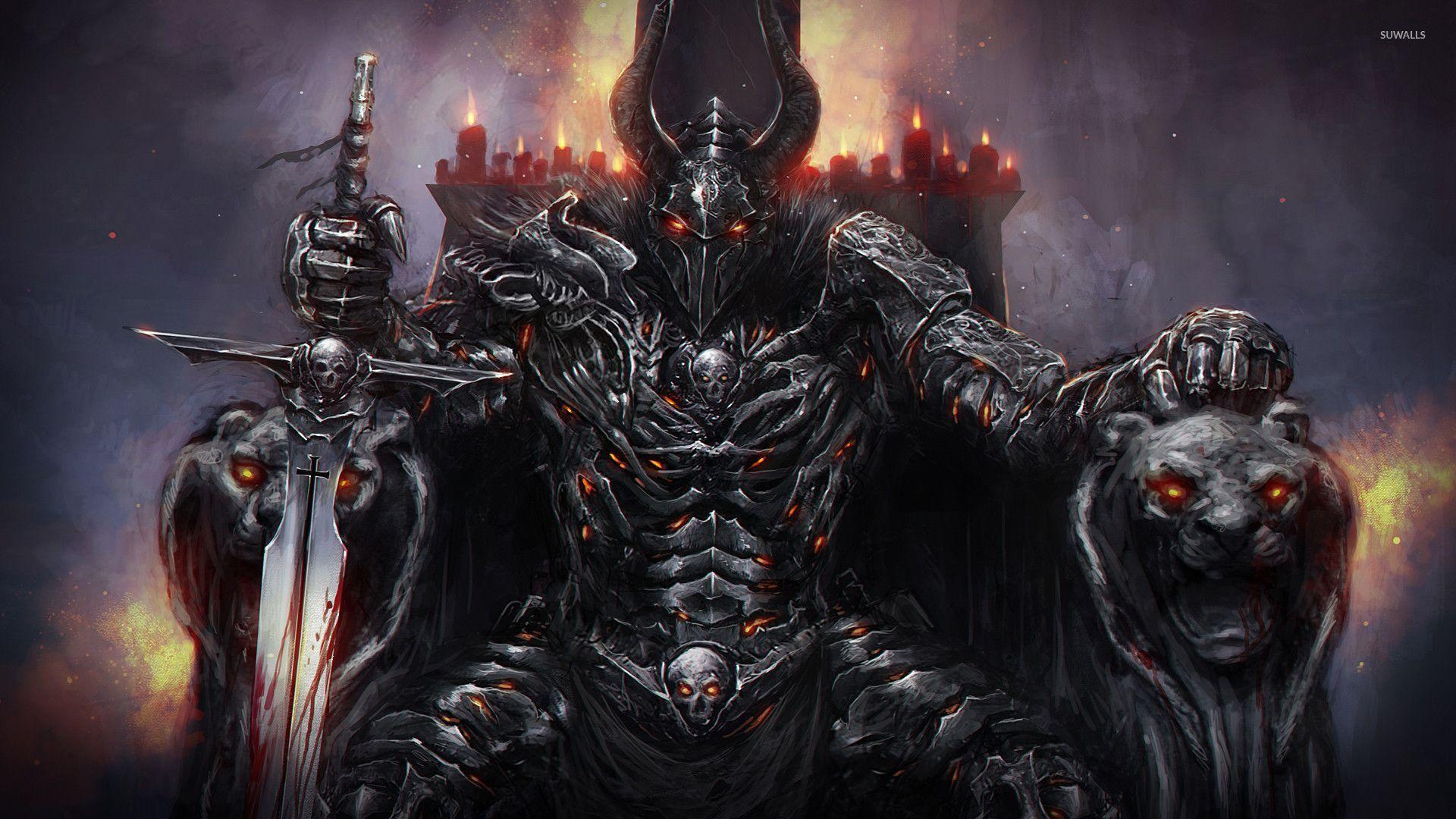 monster king wallpaper fantasy wallpapers 31196