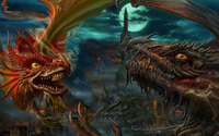 Dragon fight wallpaper 1920x1080 jpg