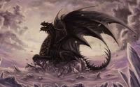 Dragon on the cliff wallpaper 1920x1080 jpg