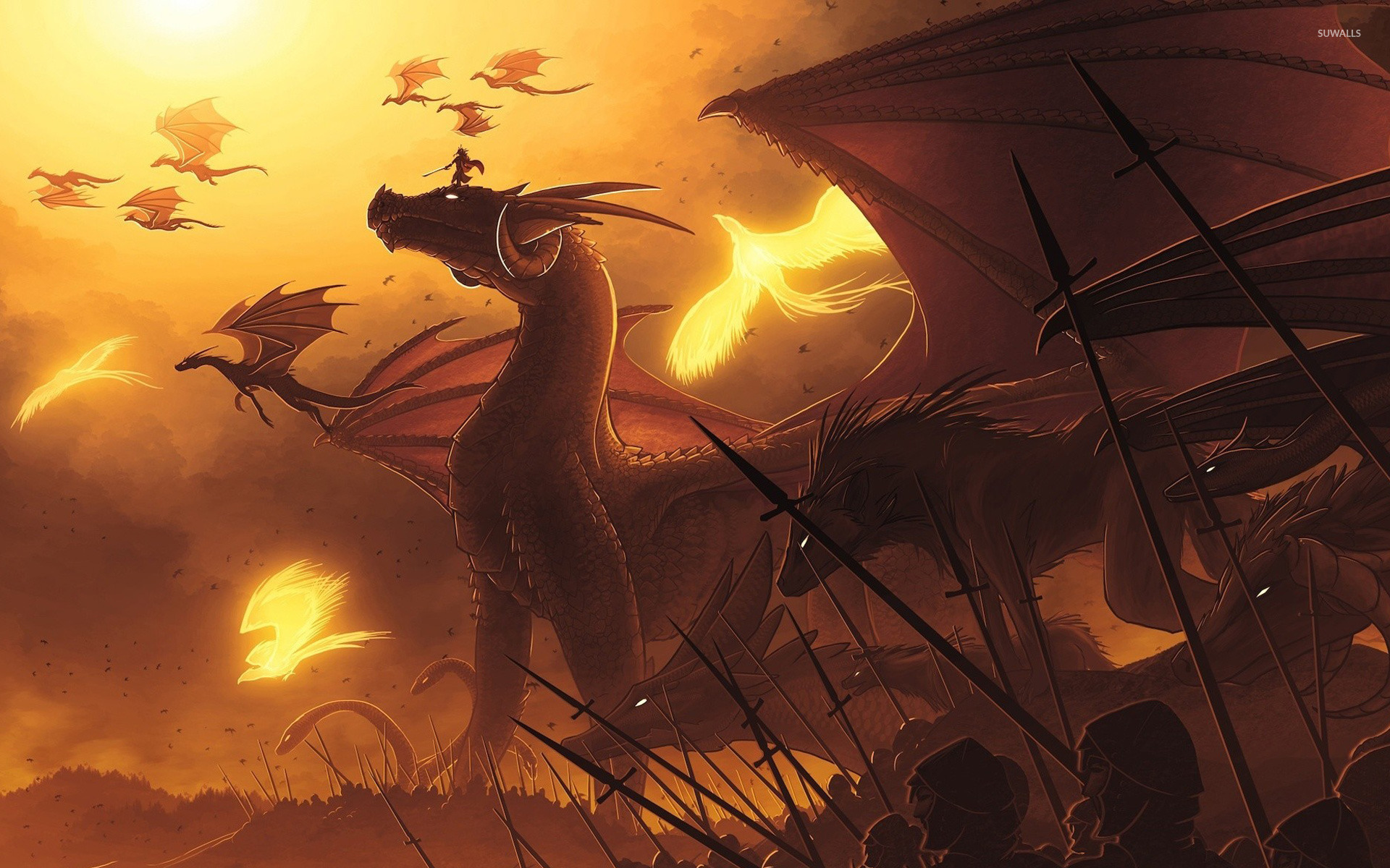 Dragons 2 Wallpaper