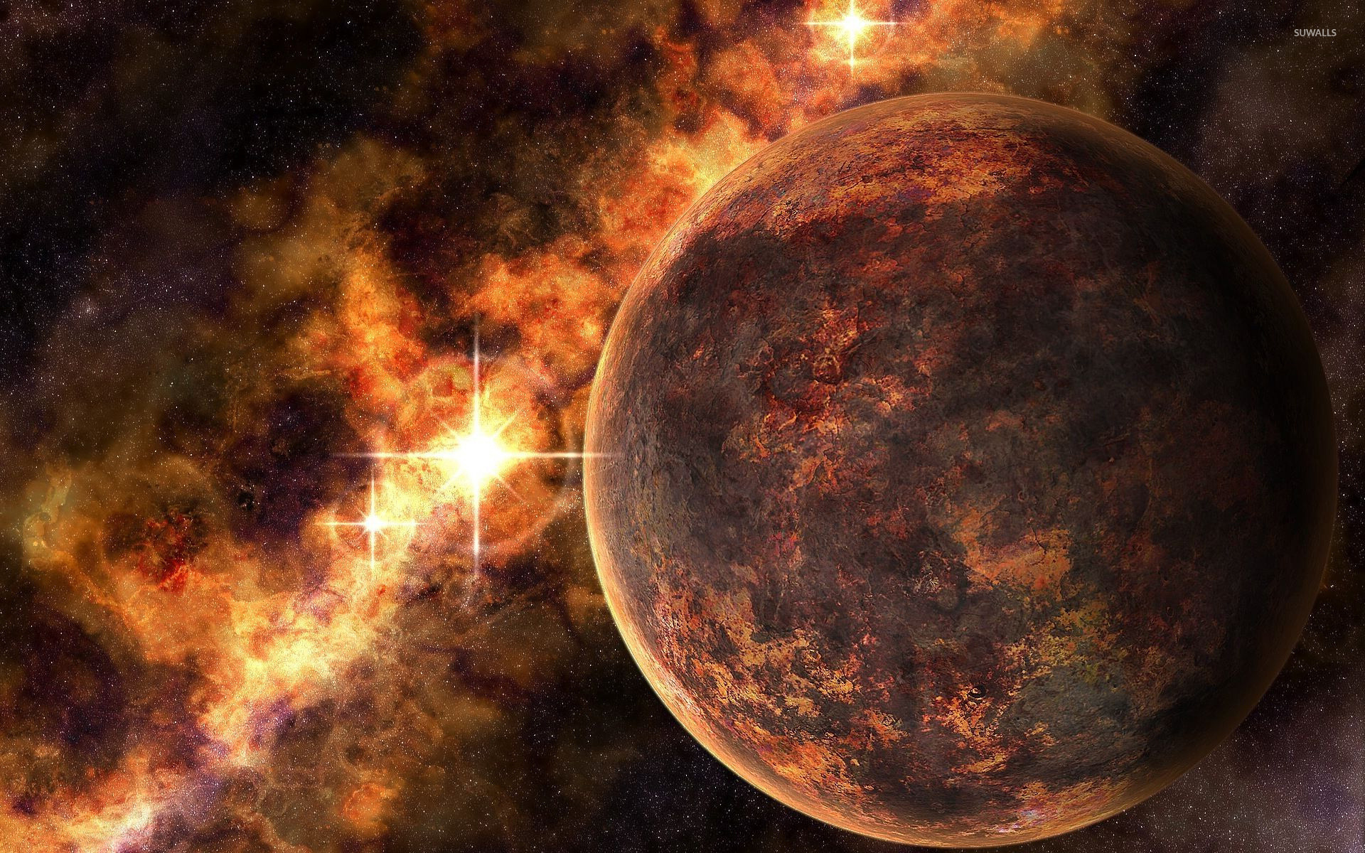 Dry planet wallpaper - Fantasy wallpapers - #13081