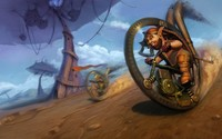 Dwarfs racing wallpaper 2560x1600 jpg