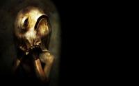Eerie mask wallpaper 1920x1200 jpg