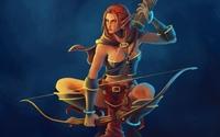 Elf archer wallpaper 1920x1200 jpg