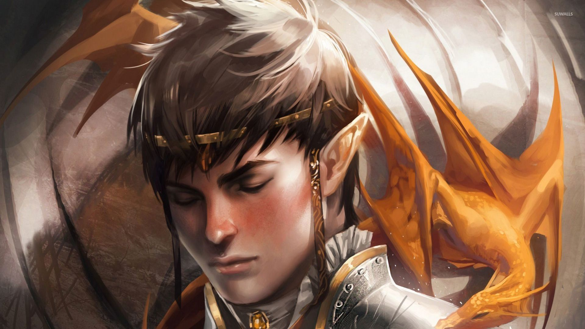 elf prince wallpaper fantasy wallpapers 25721
