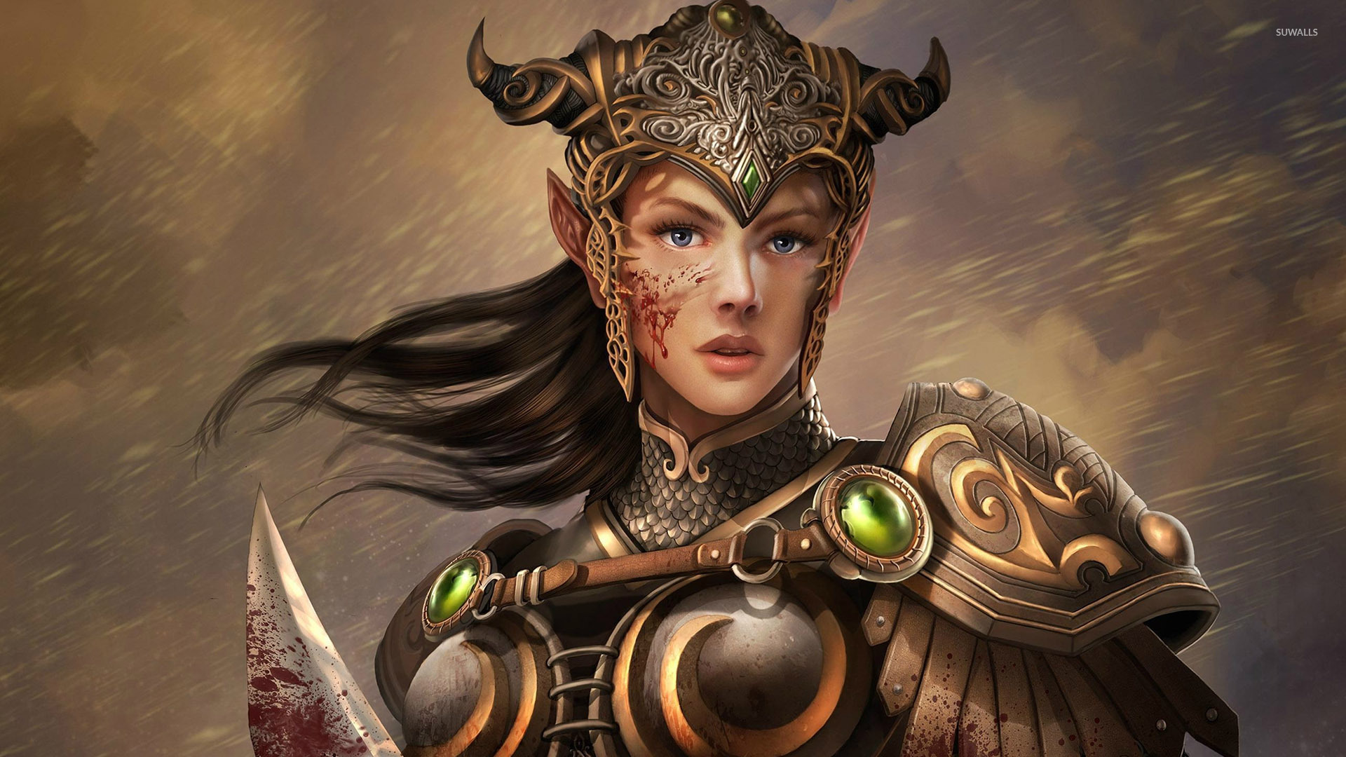 warrior elf desktop wallpapers - photo #4