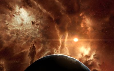 EVE Online nebula wallpaper