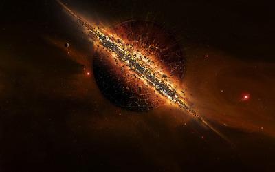 Exploding planet [2] wallpaper