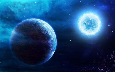 Exploding planet [5] wallpaper