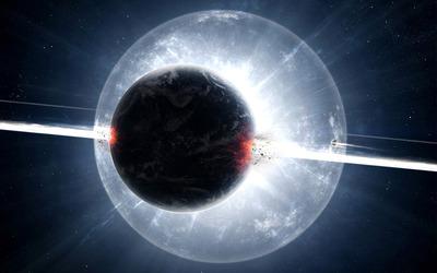 Exploding planet [8] wallpaper