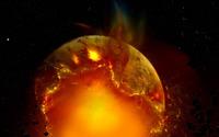 Exploding planet [11] wallpaper 1920x1200 jpg