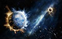 Exploding planets wallpaper 1920x1200 jpg