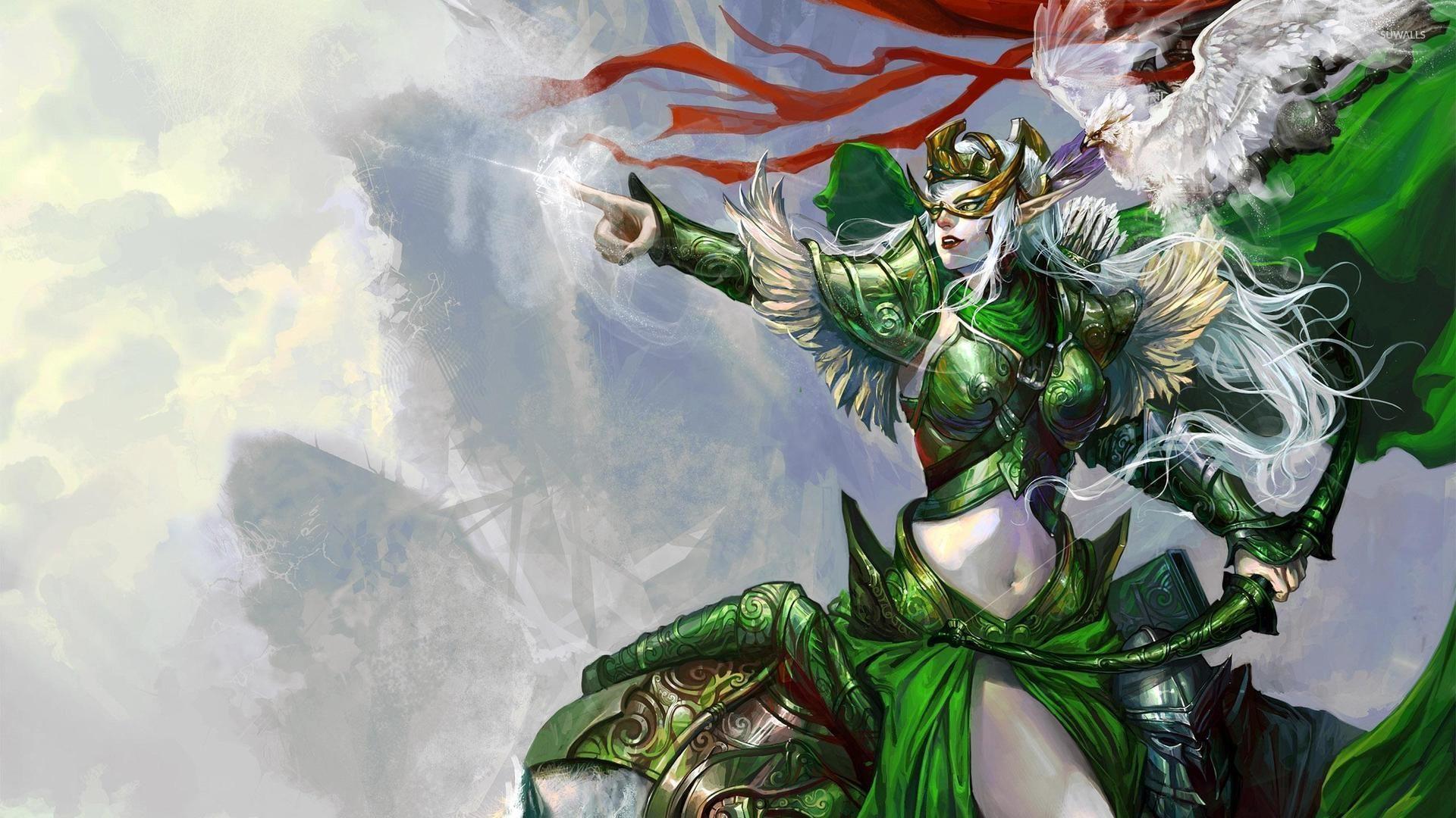 warrior elf desktop wallpapers - photo #3