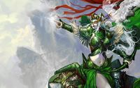 Female elf warrior wallpaper 1920x1080 jpg