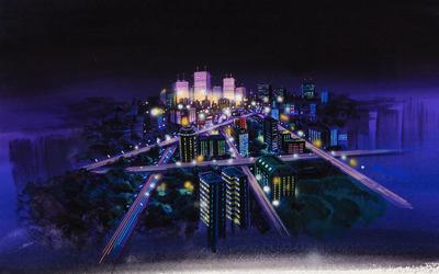 Floating city [3] wallpaper