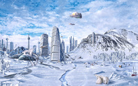 Frozen city wallpaper 1920x1200 jpg
