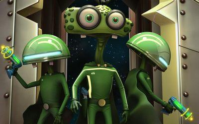 Funny aliens [2] wallpaper