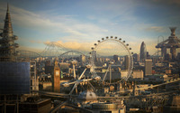 Futuristic London wallpaper 1920x1200 jpg