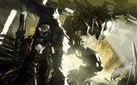 Futuristic soldier wallpaper 2880x1800 jpg