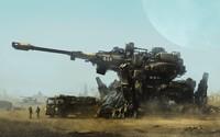 Futuristic tank wallpaper 2560x1440 jpg