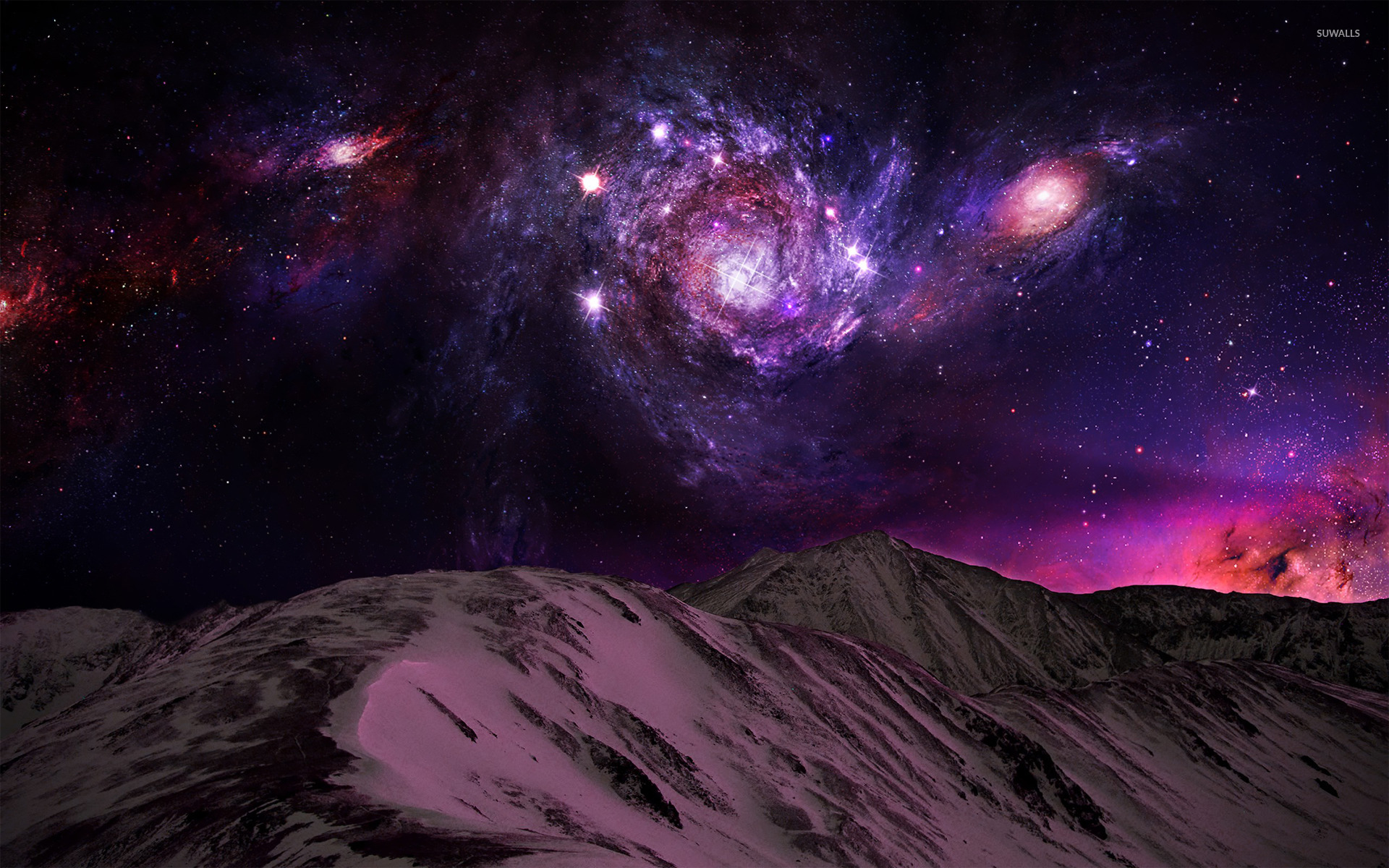 spiral galaxy 2 wallpaper space wallpapers 19533