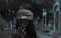 Girl in the cemetery wallpaper 1920x1080 jpg