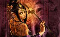 Girl with sword [3] wallpaper 1920x1200 jpg