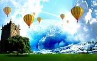Hot Air Baloons wallpaper 1920x1200 jpg