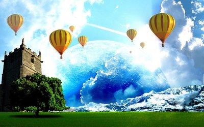 Hot Air Baloons wallpaper