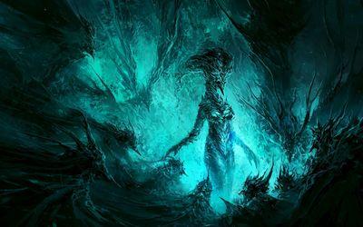 Ice demon wallpaper