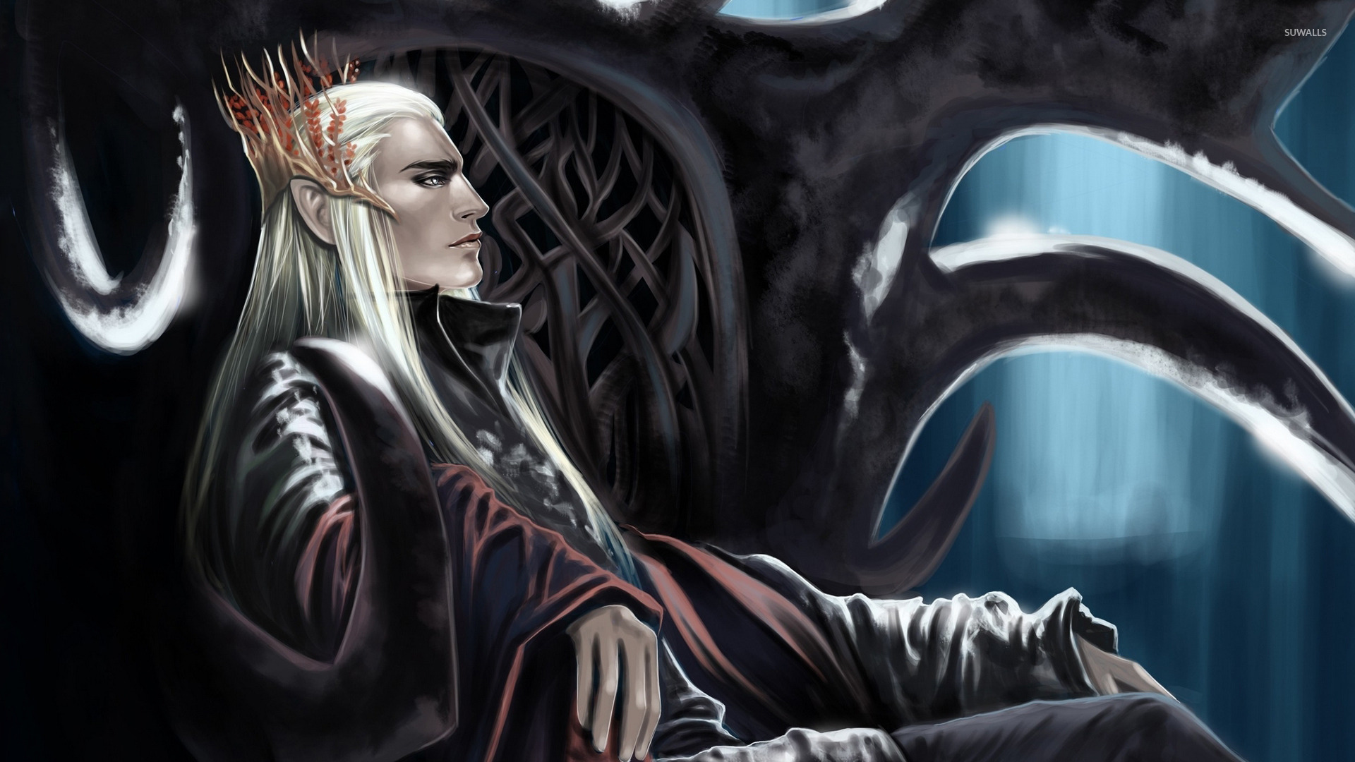 King Of Mirkwood Lord Of The Rings Wallpaper Fantasy