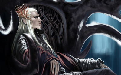 King of Mirkwood - Lord of the Rings wallpaper
