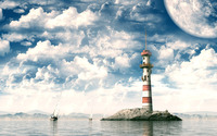 Lighthouse wallpaper 1920x1200 jpg