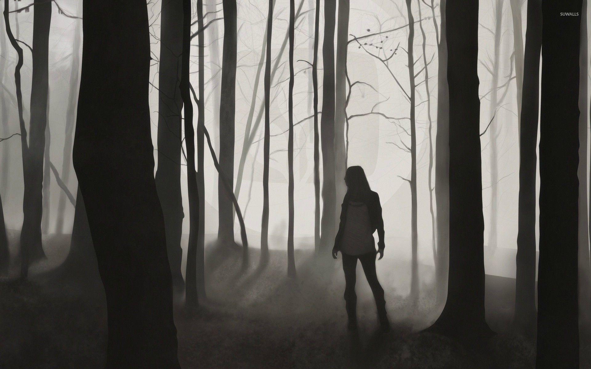 Download Wallpaper Forest Girl - lost-girl-in-the-dark-forest-28429-1920x1200  Snapshot_121024 .jpg