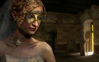 Masked woman wallpaper 1920x1200 jpg